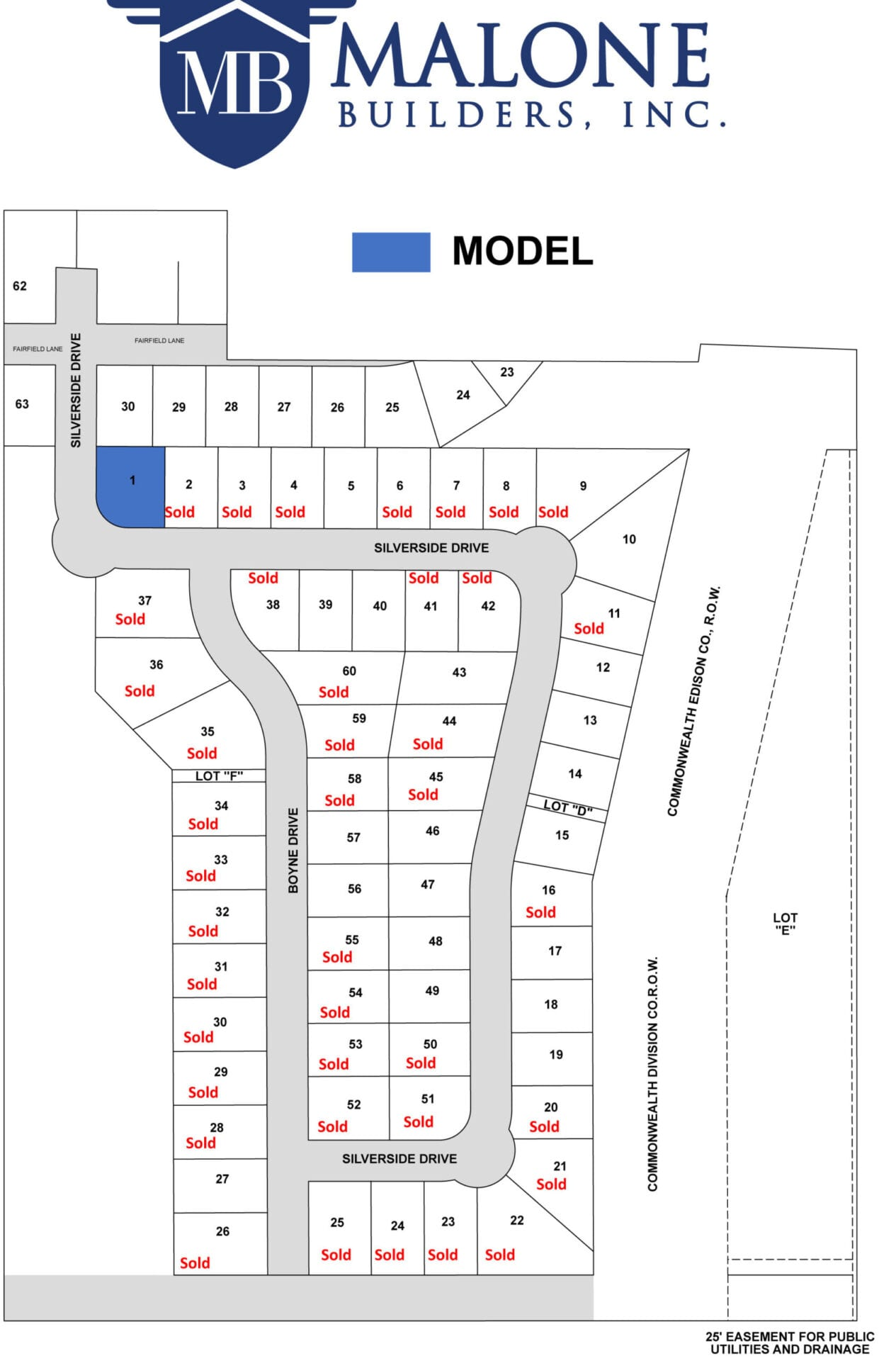 A37888 Malone Builders Site Map